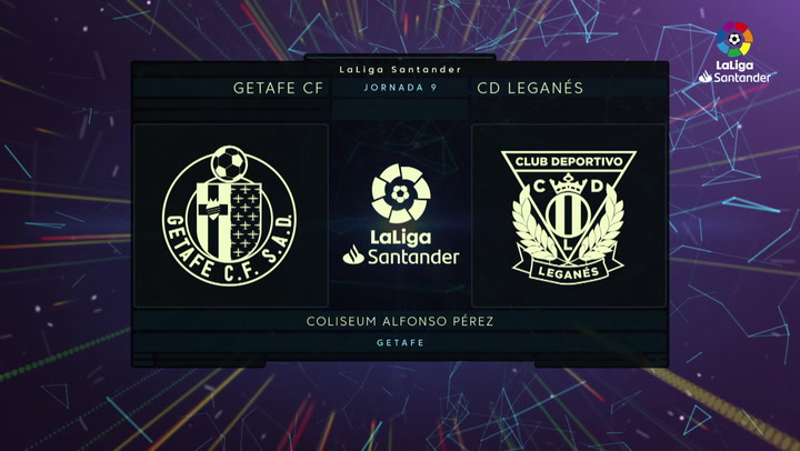 LaLiga (J9): Resumen y goles del Getafe 2-0 Leganés