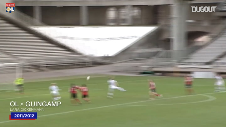 Olympique Lyonnais Women best goals vs Guingamp