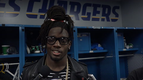 Melvin Gordon on win over Raiders and lack of fan support