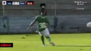 Marathón está venciendo al Vida con gol de Machuca Ramírez bajo una fuerte tormenta