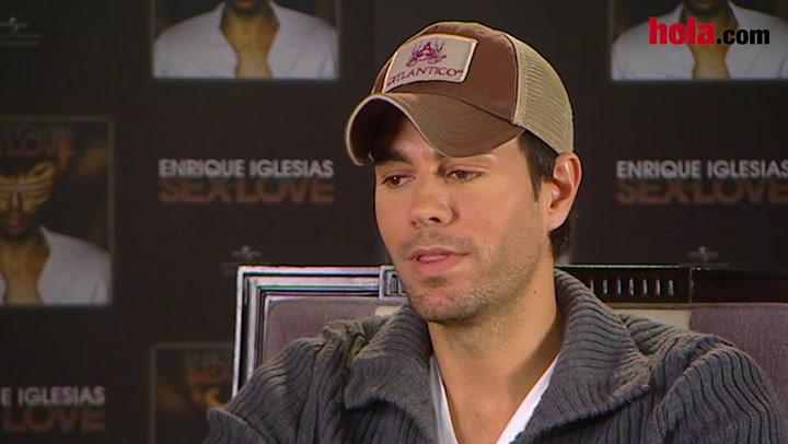 Enrique Iglesias: \'He cometido errores y de ellos he aprendido muchísimo\'