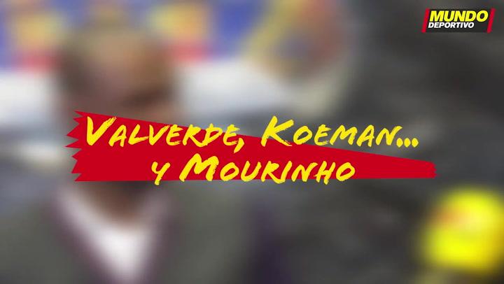 Entrevista Éric Abidal: Valverde, Koeman... y Mourinho