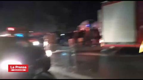 Fatal accidente en la zona norte de Honduras deja cinco muertos y un herido