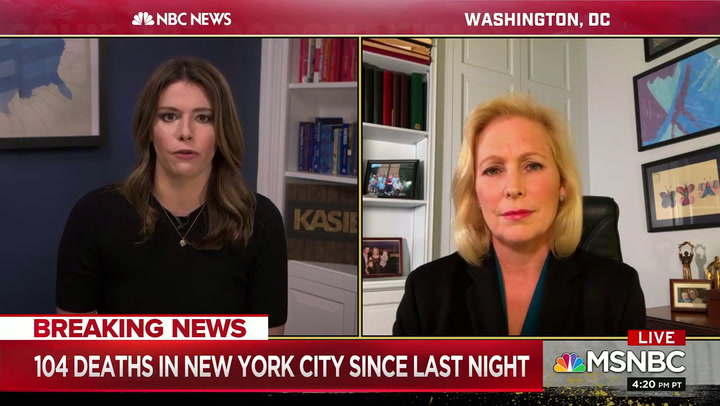 Gillibrand: Trump New York Hospital Hoarding Allegations 'Beyond Absurd'