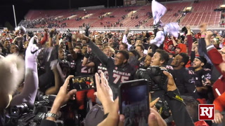 UNLV Rebels React To Rivalry Win Over UNR
