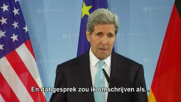 Video: Kerry optimistisch na gesprek met Netanyahu