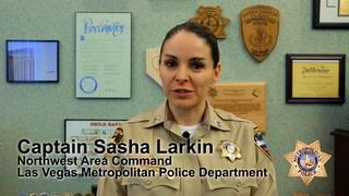 Metro Captain Sasha Larkin