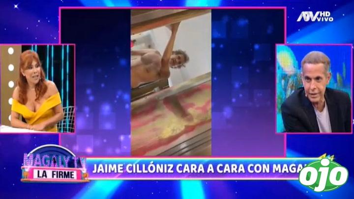 """Magaly Medina cara a cara con Jaime Cillóniz: """"En ese momento ni la pensé"""" │VIDEO"""