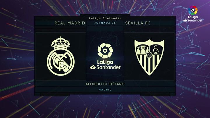 LaLiga Santander (J35): Resumen y goles del Real Madrid 2-2 Sevilla