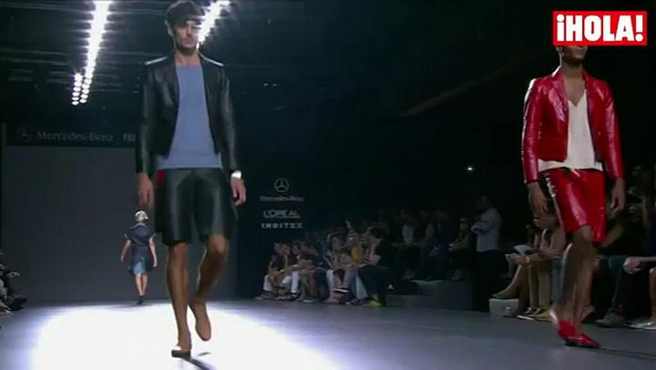 Fashion Week Madrid primavera-verano 2015:  Etxeberria