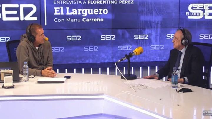 Florentino Pérez sobre la Superliga: