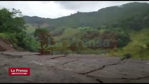 Paso entre Ocotepeque, El Poy y Agua Caliente permanece incomunicado