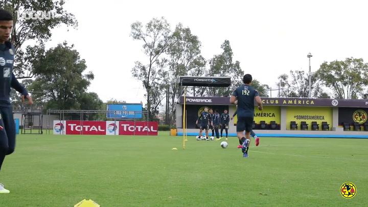 El Club América ya se prepara para la Concachampions