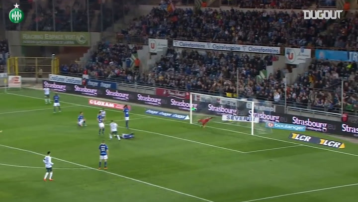 Saint-Etienne's last Ligue 1 goals vs Strasbourg