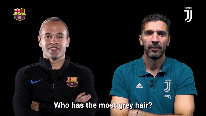 Double Interview Buffon & Iniesta