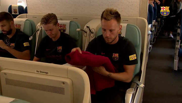 El Barça viaja a Tokio para iniciar la gira japonesa