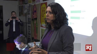 Olivia Diaz Speaks To Ward 3 Supporters After Primary Election – Video
