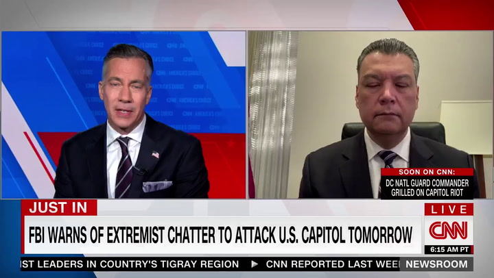 Dem Sen. Padilla: As Long as Trump, GOP Push 'the Big Lie' We Face 'Real Imminent Danger of Extremists'