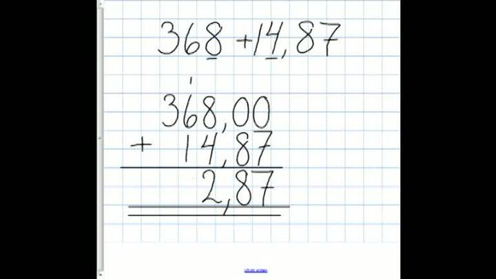 Matte: Hvordan få til addisjon med hele tall og desimaltall