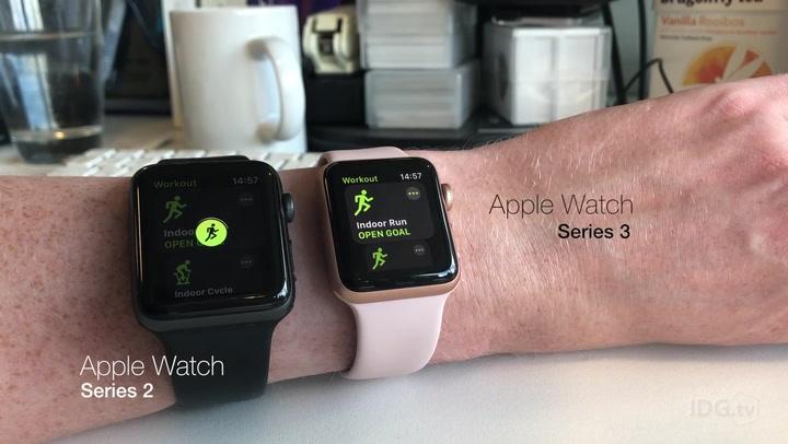 Apple Watch Series 3 vs Apple Watch Series 2 speed comparison