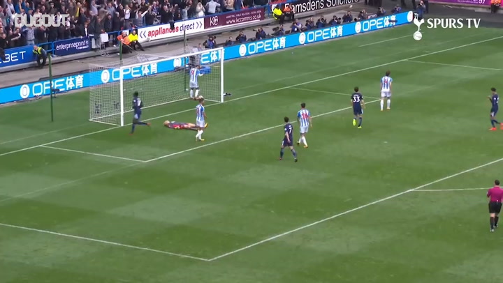 Moussa Sissoko scores first Spurs goal vs Huddersfield Town