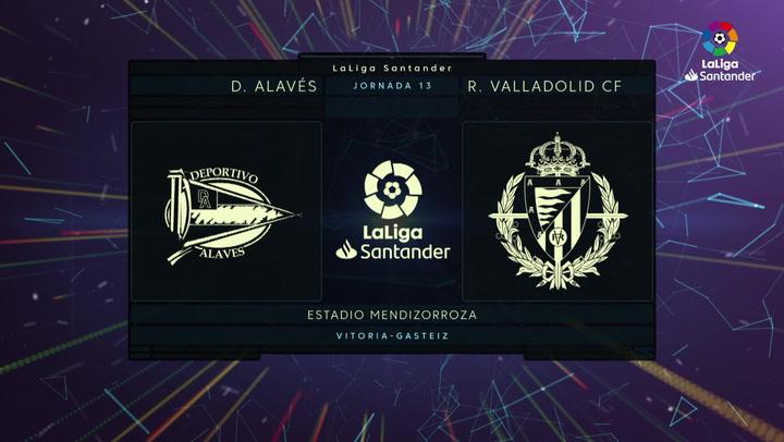 LaLiga Santander (J13): Resumen y goles del Alavés 3-0 Valladolid