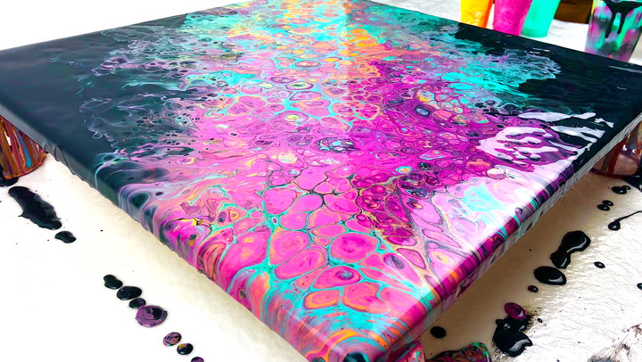Acrylic Pouring Guide Pour Painting For Beginners Guide