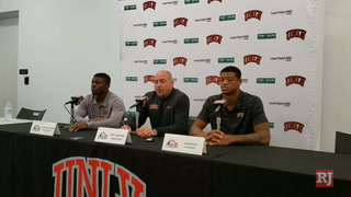 UNLV coach Sanchez on facing Colorado State – VIDEO