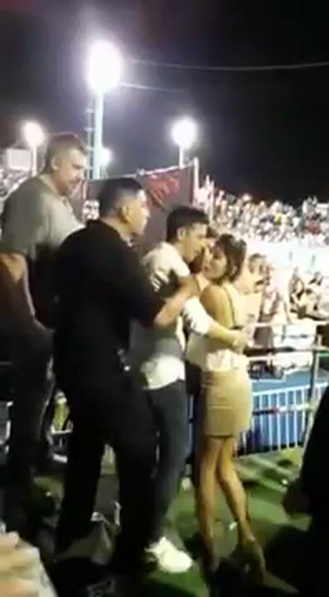 Una diputada protagonizó un escándalo durante el carnaval de Corrientes