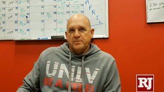 UNLV's Stan Stolte on recruiting local players