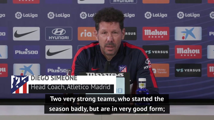 Atleti will watch El Clasico, but won't let it affect Betis preparation - Simeone