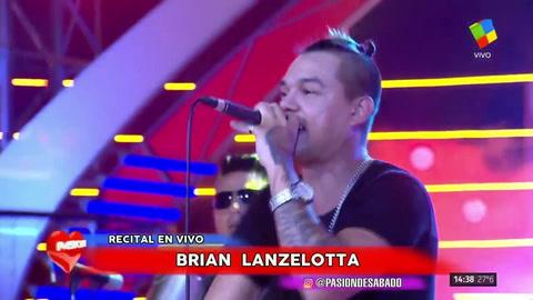 Brian se presentó en vivo en Pasión y respondió a la duda de sus fans: ¿está de novio?