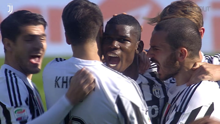 Free-Kicks: Paul Pogba Vs Torino
