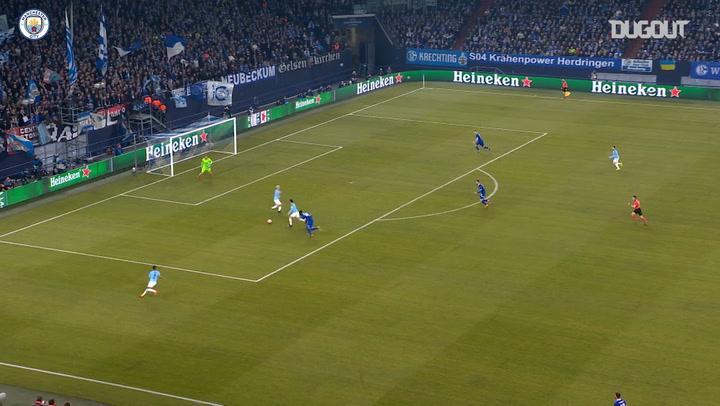 European Nights: Schalke 2-3 Manchester City Highlights