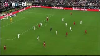 Bayern Múnich abre el marcador ante el Real Madrid en Houston