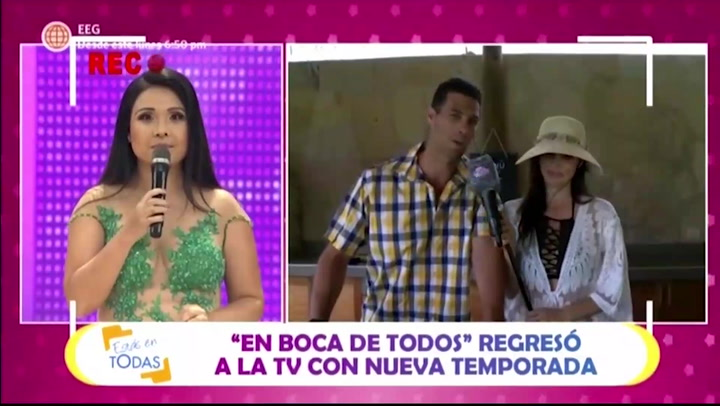 Tula Rodríguez se pronunció sobre los coqueteos con el esposo de Maju Mantilla