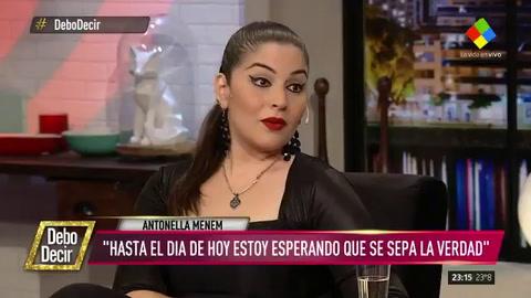 La hija de Carlitos Jr. dijo que lo de su papá fue un atentado