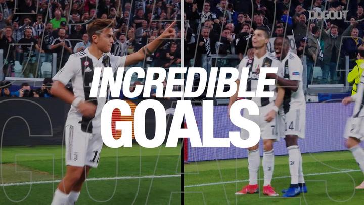 Incredible Goals: Dybala Vs Ronaldo