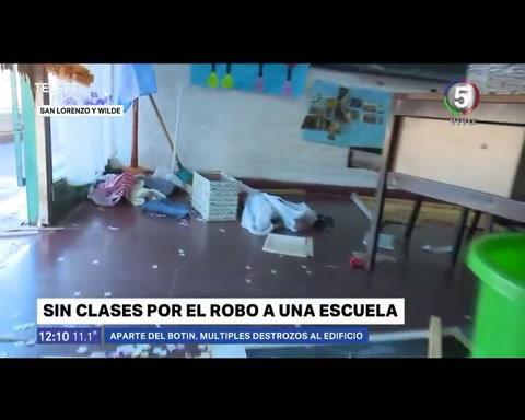 La Escuela Gabriela Mistral fue arrasada por vándalos por segunda vez en quince días