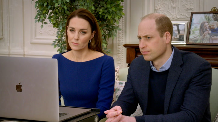 Will and Kate speak about frontline workers in the Commonwealth Celebration