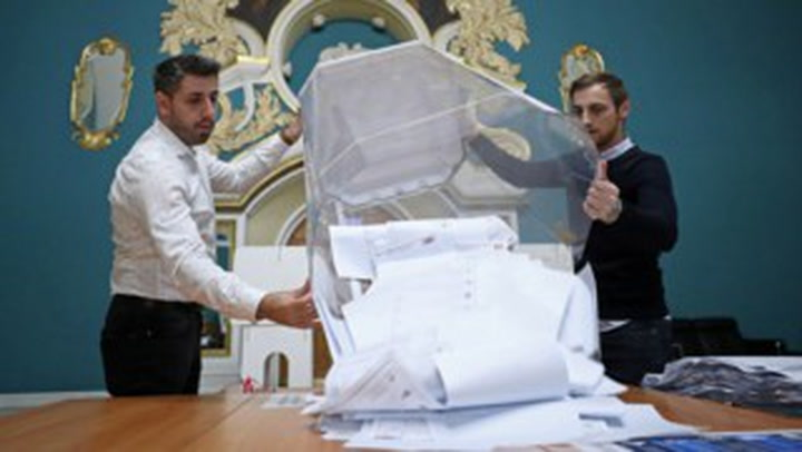 Pro-Putin party heads for Russian parliamentary election win