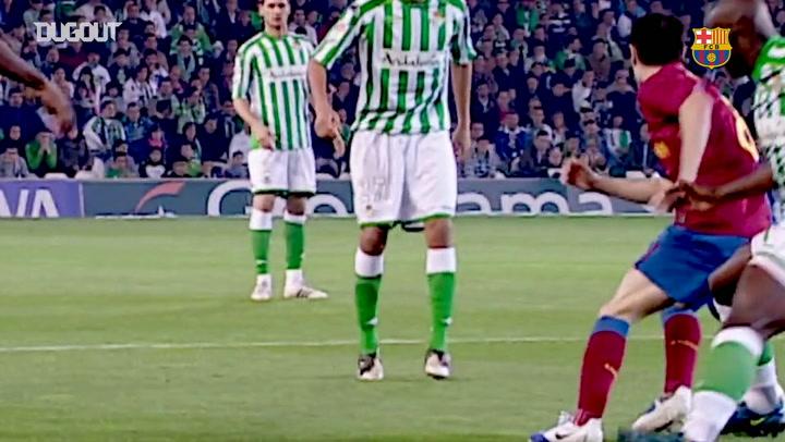 Andrés Iniesta's best Barça assists