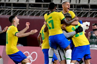 Brasil vence a México en los penales y se meten a la final de los Juegos Olímpicos de Tokio 2021