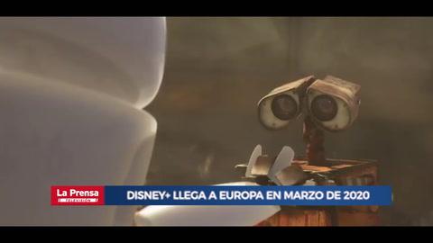 Disney+ llega a Europa en marzo de 2020