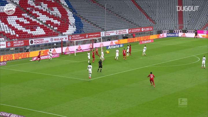 Goretzka marca em goleada do Bayern contra o Eintracht