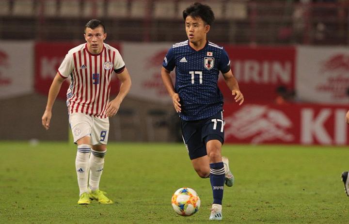 Lo mejor de Takefusa Kubo en el partido amistoso entre Japón y Paraguay