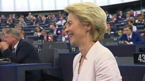 Ursula Von der Leyen confirmada como presidenta de la Comisión Europea