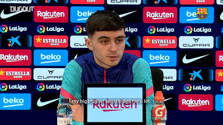 Pedri: 'All young players have the ambition to conquer the world'