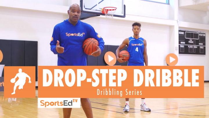 How To Drop-Step Dribble Ft. Tim Hardaway