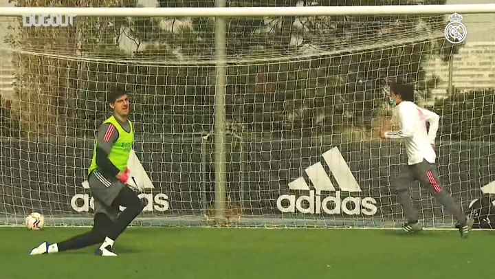 Goals and combinations in preparation for LaLiga